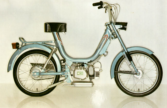 on Morini Moped Gyromat